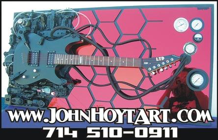 Guitar art, guitars, Fender, Gibson, Jackson