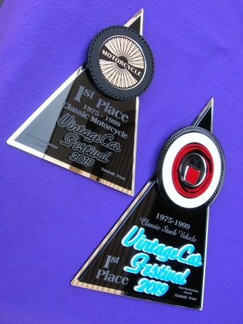 car show awards car show signs